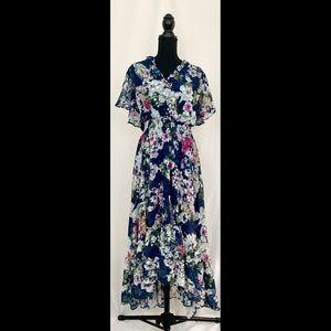 Lane Bryant 18/20 V Neck Fit & Flare Maxi Dress